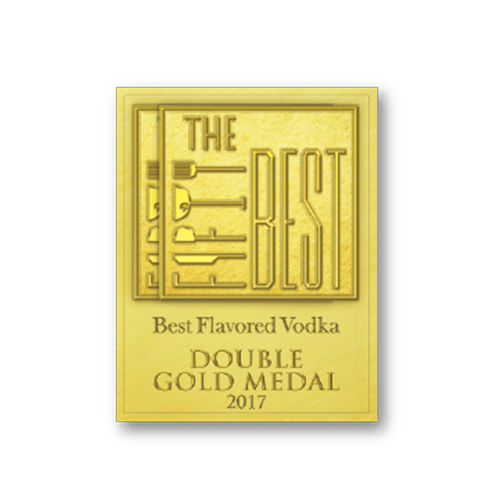 The Best Flavoured Vodka Double Gold Medal 2017 Dr. Stoner's